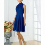 11 Luxus Blaues Kleid A Linie Stylish Abendkleid