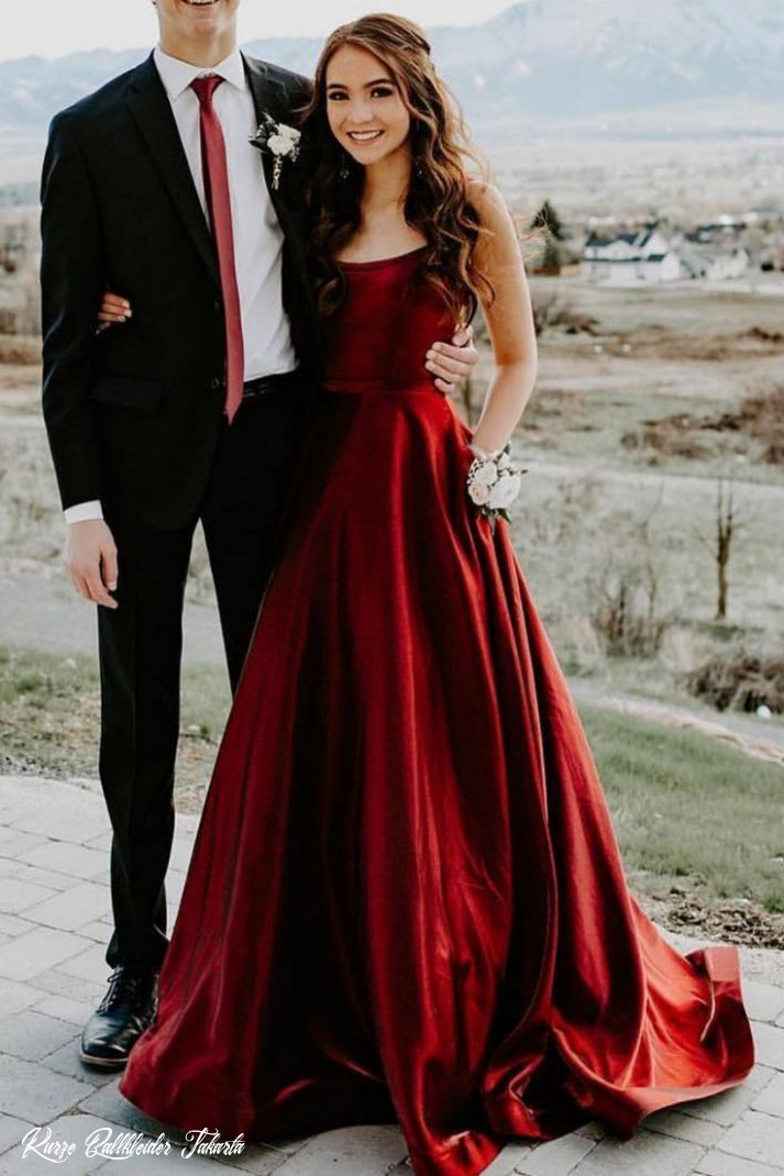 A Line Straps Wine Red Long Prom Dress#beautyblog #makeupoftheday