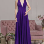 Abendkleid Polly (violett)