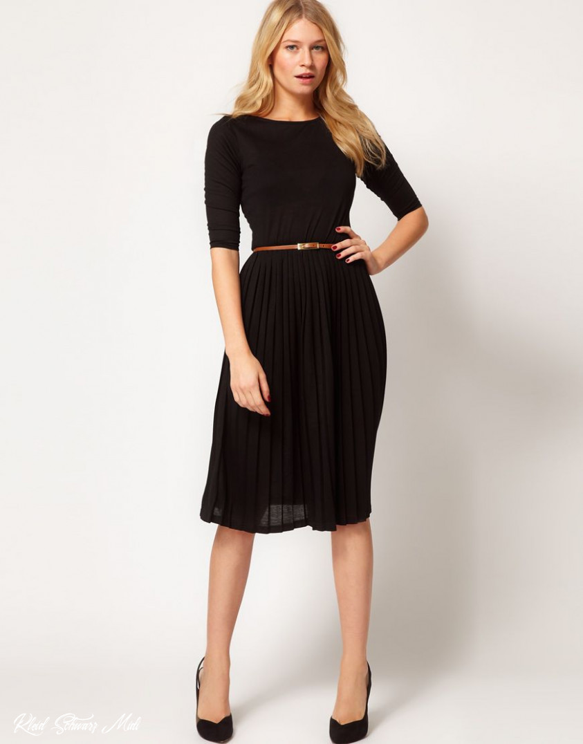 asos midi dress with pleated skirt kleidung, kleidung mode, modestil