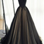 Ballkleid Lang Schwarz Gold Archives Abendkleid