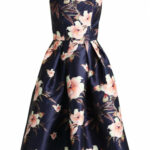 Chi Chi London Beth Cocktailkleid/festliches Kleid Navy