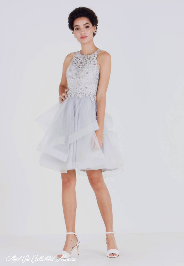 cocktail dress / party dress silver