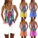 Details About Women Summer Vintage Beach Sleeveless Floral Tank