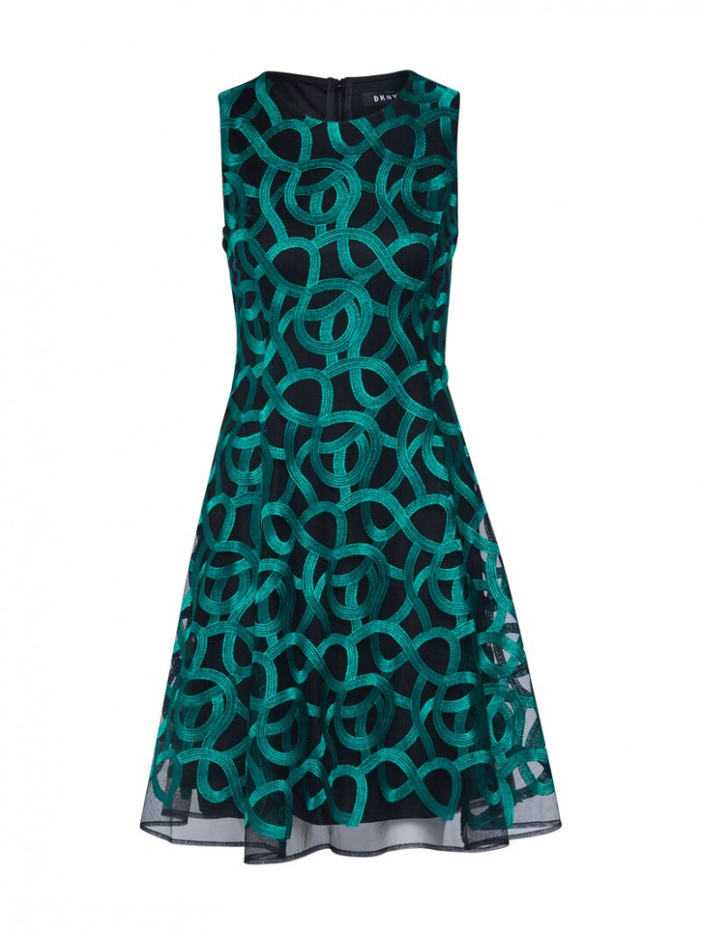 dkny kleid in dunkelblau about you