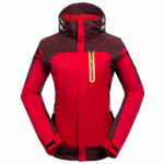 Emansmoer Damen 100 In 10 Wasserdicht Atmungsaktiv Windjacke Outdoor