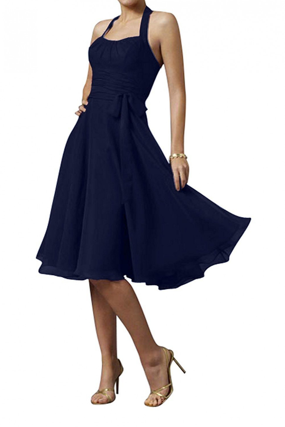 Cocktailkleid Blau Amazon - Abendkleider