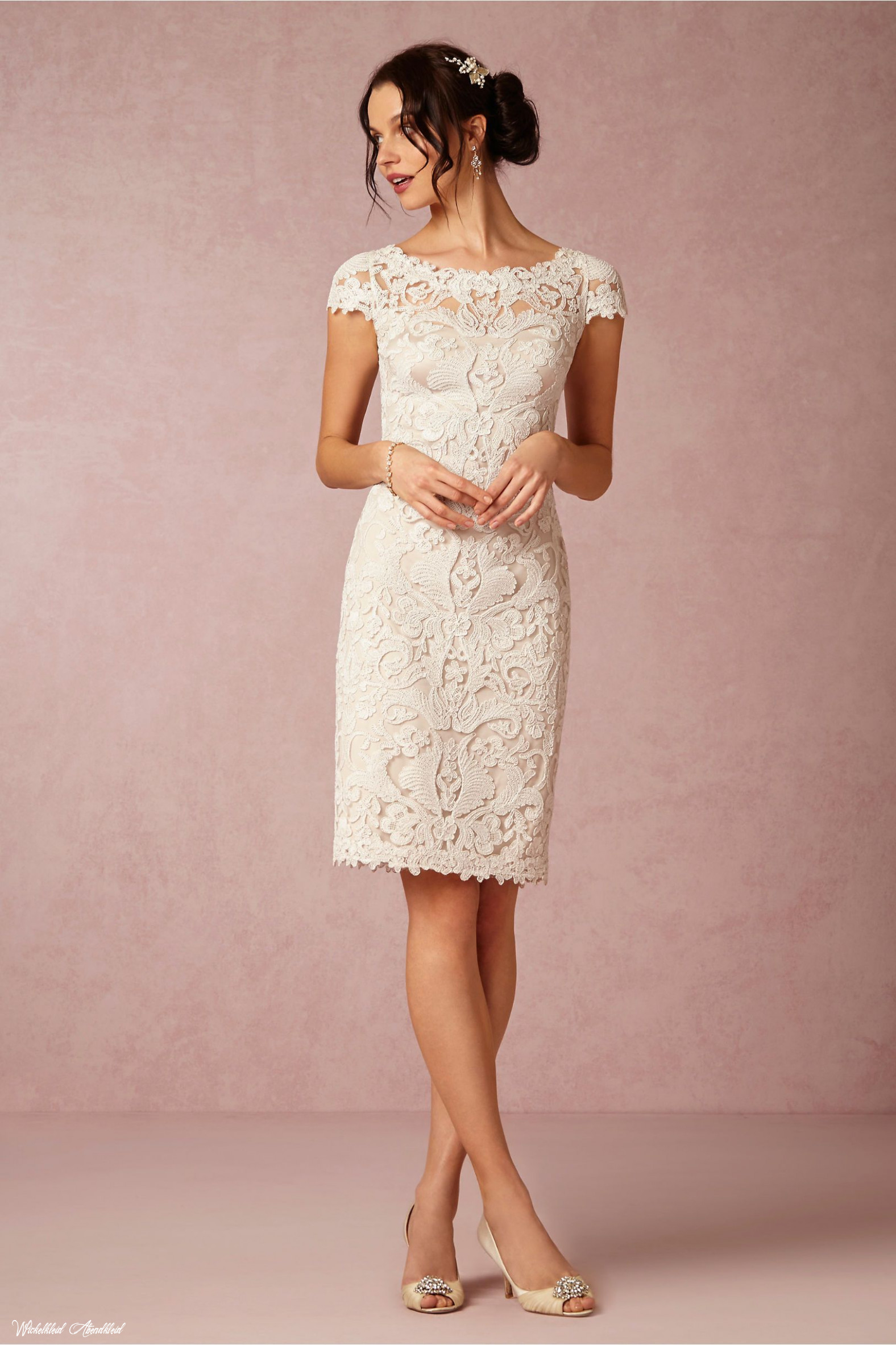 hadley dress simple wedding dress short, bride reception dresses