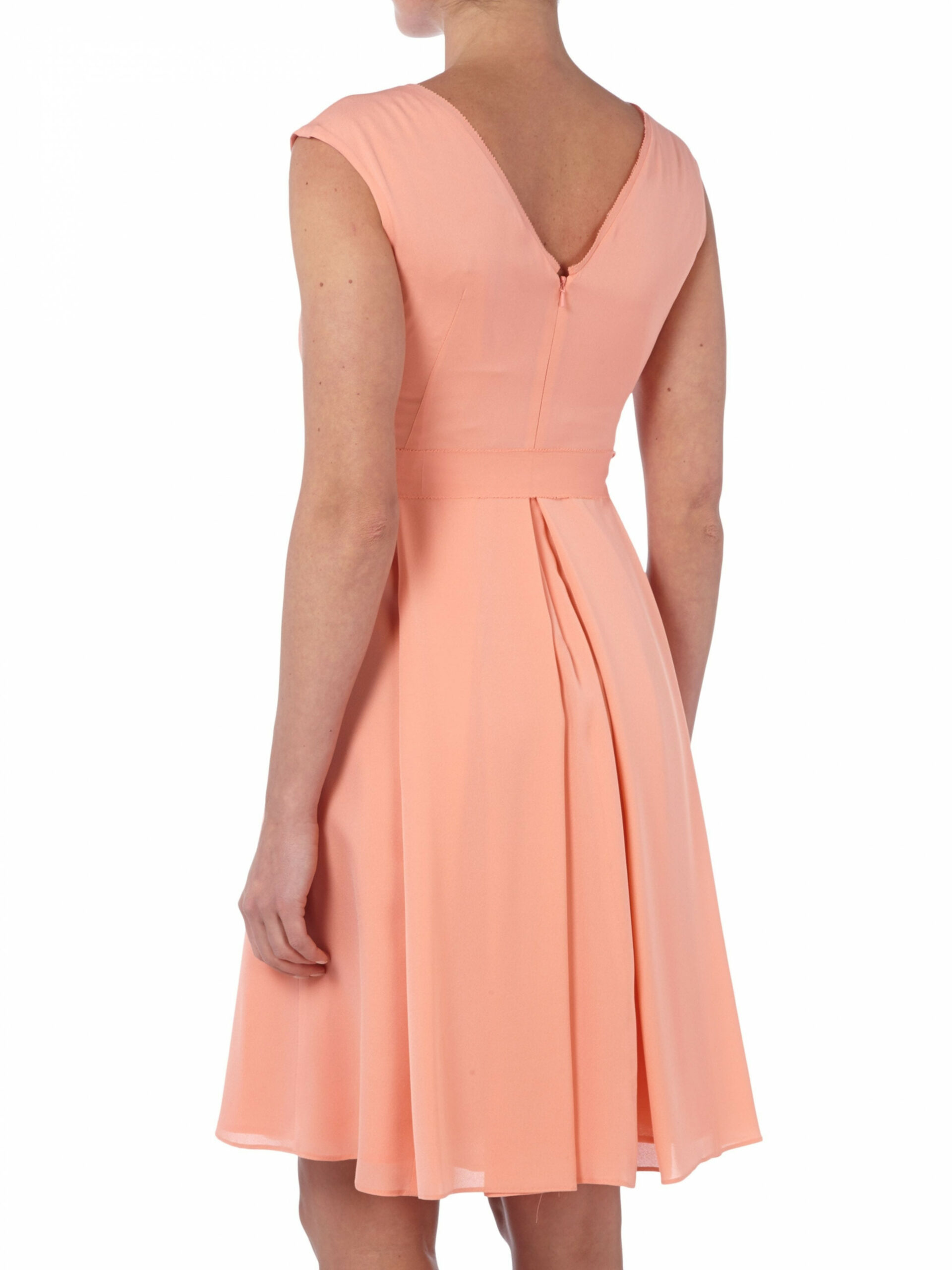 luxus kleid lachs boutique abendkleid