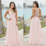Marine Und Rosa Kleid For Wedding