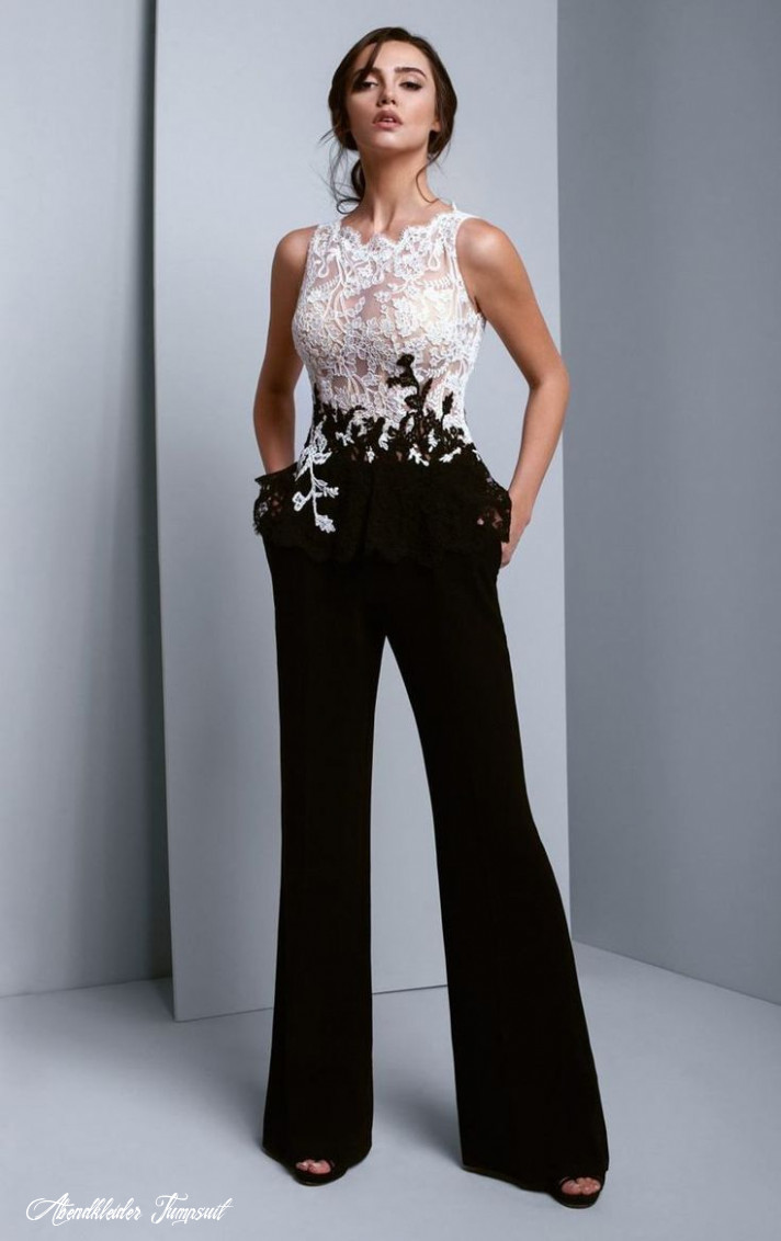 next to couture bc12 baked jewel crepe lace jumpsuit in 12