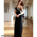 One Shoulder Abendkleid 12 Liebhild In Schwarz Elegant #kleid