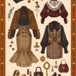 Pin Von Mary Keller Auf Differents Drawings Vintage Mode Skizzen
