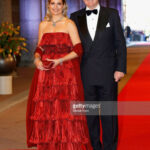 Princess Maxima Of The Netherlands And Crown Prince Willem
