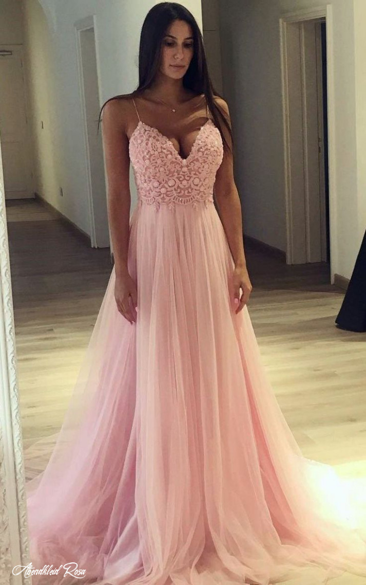 Prom Dress With Thin Straps, Back To School Dresses, Prom Dresses