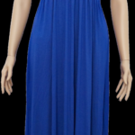 royal blau casual maxi kleid shop 9f9 9d9