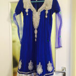 Royal Blaues Kleid Bollywood Silber In 12 Offenbach Am Main For