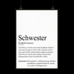 Schwester Definition