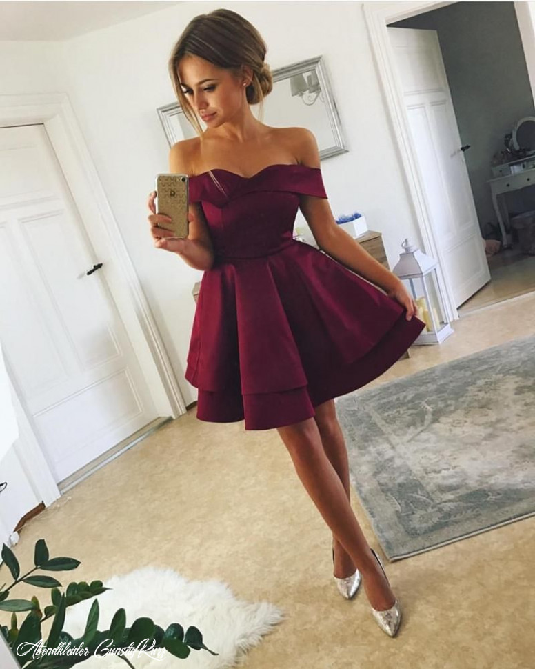 short satin v neck off the shoulder homecoming dresses cheap