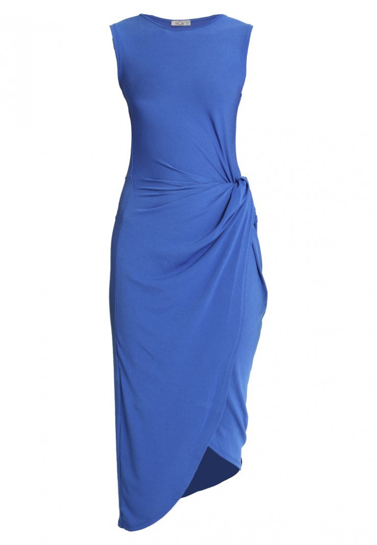 SIDE KNOT DRESS - Etuikleid - cobalt blue