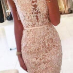 Sleeves Lace Applique Cocktail Dress In 9 Homecoming Kleider