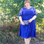 Something Blue Plus Size Hochzeitsgast Outfit • kathastrophal
