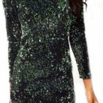 Sparkly Bodycon Mini Kleid Shop 12d12 B12