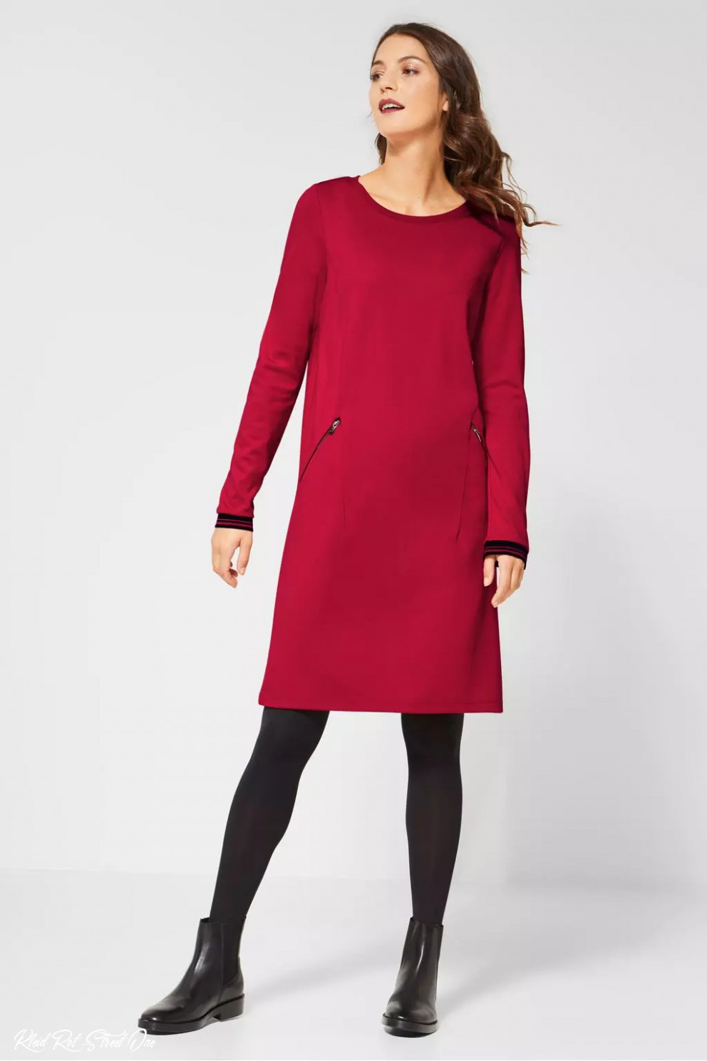 Street One Kleid Love Red / Rot