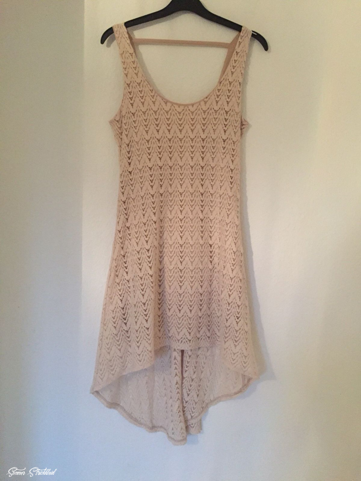 strickkleid sommer gr