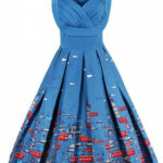 The dress that will remind you the good London city life. Take a